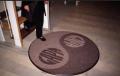 Ковры имиджевые с логотипом, рисунком ТМ ГАПА. Покрытия ковровые