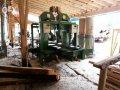 Продается вертикальный 2х ленточный брусовочный станок Италия