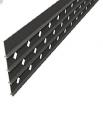 Доска для ограждения Megawood Compact Fix (basaltgrey) с круглыми отверстиями