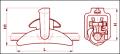 Зажим поддерживающий ПГН-5-3
