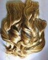 Натуральні мелированние кучеряві волосся на шпильках