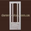 Drzwi z litego drewna są s_1190 90 cm (pod szkłem)