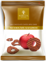 Nobilis candies apple chips in dark and the Barry Callebaut 50 milk chocolate of
