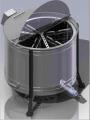 La máquina extractora de miel eléctrica de la marca la VV-MIEL 2