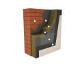 Утеплитель фасадный Изоват 135 кг/м3, 100 мм утепление фасадов под мокрую штукатурку