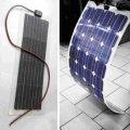 Солнечный модуль гибкий монокристаллический 50W, 80W, 100W