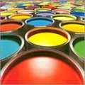 Paints and varnishes, LKM, drying oil, white spirit, antiseptics, dyes, filling, minium iron MA-15