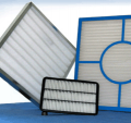 Corrugated air filter 287x287x48