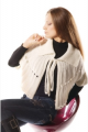 Clothes knitted Original cape