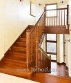 Лестница деревянная. Модель Аврора.