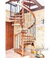 Лестница деревянная. Модель Охота.