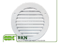 Ventilating grate round unregulated RKN. Ventilating grates