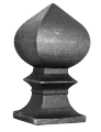 Верхушка кованая декоративная