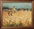 Картина Гленерс, женщины в пшеничном поле, Диф, Марсель