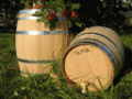 Oak casks for cognac