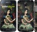 Чехол на Samsung Galaxy S4 mini Алиса с игрушками