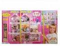 Кукольный домик для Barbie с куклой