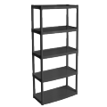 Rack of 5 shelves