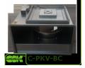Вентилятор канальный прямоугольный с назад загнутыми лопатками C-PKV-BC