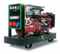 Дизельная электростанция модель GP 385A/I дизель-генератор на базе двигателя IVECO, 3-х фазная, с водяным охлаждением, мощностью 385 кВа, для использования в качестве постоянно действующих автономных или резервных источников электроэнергии, Green Power
