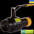 Кран стальной шаровой BREЕZE 11c34п1 ручной привод PN 25 DN 25/20