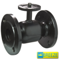 Кран стальной шаровой BREЕZE 11с933п под электропривод PN 16 DN 50/40
