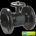 Кран стальной шаровой BREЕZE 11с952п под электропривод DN 80/65