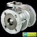 Кран стальной шаровый BREЕZE 11с941п под электропривод DN 50/50