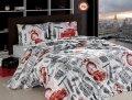 Комплект постельного белья ARYA London ранфорс семейный 1001928