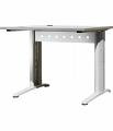 Стол офисный на металлическом каркасе ПС-10.