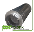 Silencer C-GKK tubular channel for round channels