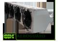 Воздушная завеса AeroGuard. Завесы тепловые воздушные