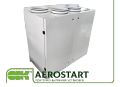 Forced-air and exhaust ventilating AeroStart installation. The equipment is ventilating