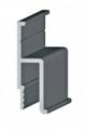 Алюминиевый профиль для натяжных потолков h-160(облегченный)