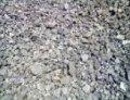 Crushed stone slag