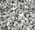 Crushed stone and sand slag for road construction