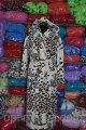 Женский махровый халат длинный леопард S -M- L- XL