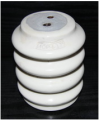 Insulators are ceramic basic, reinforced by IOR-6