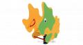 Качели пружинные  Динозаврик