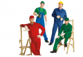 Suits working for builders, assemblers