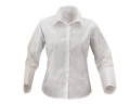 Blouses are white. Women's clothing