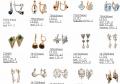 Серьги, сережки, ювелирные изделия: восковые модели, мастер-модели и резиновые пресс-формы, 3D моделирование, эксклюзивные модели под заказ