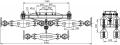 Подвесы многороликовые 4П6Р
