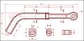 Зажим натяжной транспозиционный ТРАС-450-1
