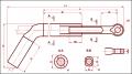Зажим натяжной транспозиционный ТРАС-1200-1А