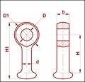 Серьга марки СР-16-20
