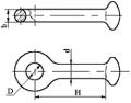 Серьга марки СРС-7-16