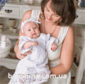 Крестильная рубашка Глаша Mimino Белый (201-02)