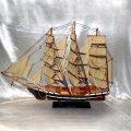 Модель корабля парусник 80 см 8025-80