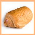 Слойка с персиковой начинкой